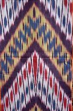 IKAT   Baumwolle Meterware  Handarbeit  Mehrfarbig     Usbekistan