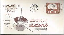 4/23/77 Launch of Helios-2 US-German Satellite