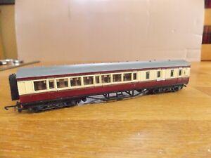 MAINLINE 37112 LMS 57' BRAKE 1st / 3rd COACH No M5321M BR Red & Cream. OO Gauge