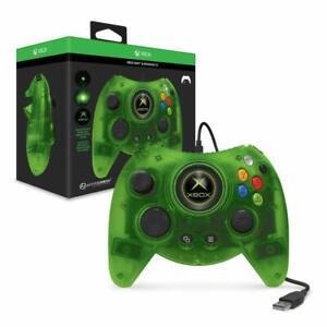NEW GENUINE Hyperkin Duke Wired Controller Green Xbox One Series X S Windows 10