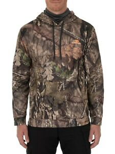 Men's Mossy Oak Break-Up Country L/S Performance Fleece Camouflage Large Hoodie