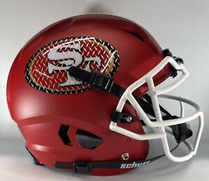 San Francisco 49ers Custom Full Size Authentic Schutt Vengeanc Football Helmet