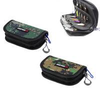 Lure Fishing Bag Pockets Storage Spoons Baits Jig Fishhook Fishing Gear Case