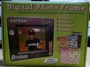 """Digital Photo Frame Create Your Own Remote Stickers 5.6"""" Screen NOB ADS"""