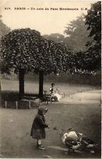 CPA PARIS (14e) Un coin du Parc Montsouris. 2 (535895)