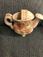 Victorian Rose Teapot Design Ceramic Planter or Vase