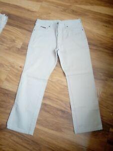 Men's Vintage Wrangler Jeans - Waist 36''/leg 30'' - light beige