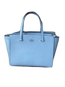 Kate Spade New York Patterson Drive Geraldine Laptop Satchel Purse Med Blue $329