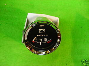 SMITHS Voltmeter, Morgan, Austin-Healey Sprite, Land Rover, Jaguar