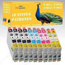 10x non-original komp Tintenpatronen für Epson Stylus DX3850 Plus / DX4200 DiSa