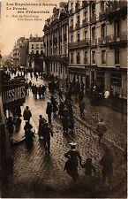 CPA   Les Expulsions á Nantes-Le Procés des Prémontrés-Rue de Strasbourg(354278)