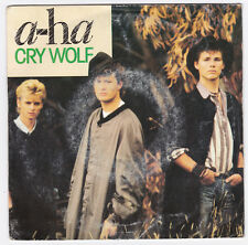 SP 45 TOURS A-HA  CRY WOLF  WARNER BROS 928 500 7 en 1986