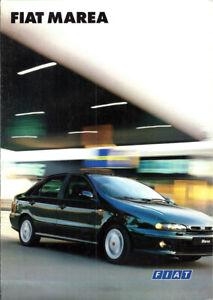 Brochure Dépliant Fiat Marea 1996 Italiano 8 pagine