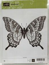 Stampin Up SWALLOWTAIL clear mount stamp Large butterfly
