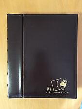 BRD - 10 DM Numisblattsammlung komplett 1997 - 2001 inkl. Beiblätter MIT Münzen