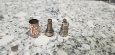 New Vintage Silver 1940's Mini 2 5/8 inches Budweiser Lighter Kem Anheuser-Busch