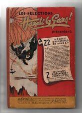 Sélections HARDI LES GARS. Album n°1 - n°5 à 16. SEPIA 1946. Très bel état