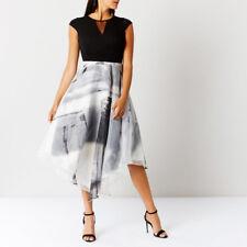 Coast Grovetta Organza Monochrome Midi Dress Sizes UK 8 - 16