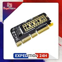 Adaptateur M.2 NVME PCIE vers M2 SSD M2 NVME PCI Express X16 X8 X4