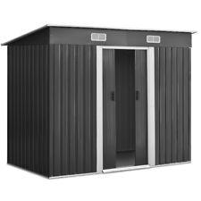 Cheap Shed 2.38x1.31M Garden Sheds Storage Outdoor Workshop Shelter Metal Steel