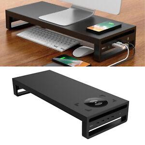 Laptop Monitorständer aus Aluminiumlegierung unterstützt Organizer,