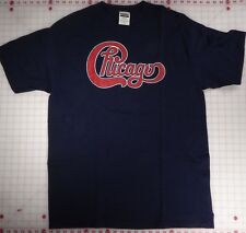 Chicago '96 Tour Cities on back XL Black T-Shirt