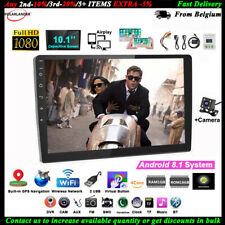 10''2 Din Android GPS Car Radio Airplay+Camera Touch BT FM Wifi iOS Mirror Link