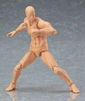 S.H. 6'' Figure Art Figma CHAN&KUN Movable PVC Male Female Figure Body Model Toy