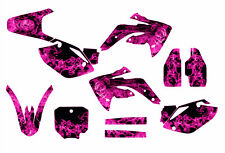 CRF 150R graphics decal kit for Honda 2007- 2016  #9700 Pink Zombie Girl
