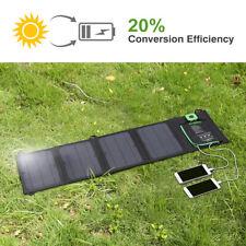 ENKEEO 28W Solarenergie Solarmodule Faltbares Solarpanel TIR-C, Multiple USB 2.0