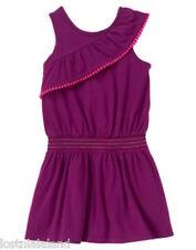 Gymboree Pom Pom Ruffle Smocked Dress Size 7