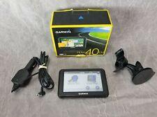 Garmin Nuvi 40LM  GPS Lifetime Maps,Bundle w/ Box