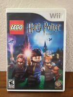 LEGO Harry Potter: Years 1-4 (Nintendo Wii, 2010)