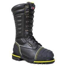 Rare Rocky HAM BOOTS UK8 Mining Steel Cap puncture resistant metatarsal guard