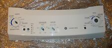 GE Stacked Washer/Dryer Control Panel Part # 189D5245P001