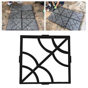 Garden Lawn Floor Paving Pavement Mold DIY Path Walkway Maker Mould Reusable