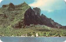 Vai Tape Bora Bora Scenic View Vintage Postcard J58320