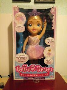 Ballerina Dreamer Dancing Ballerina w Light Up Dress Dances & Plays Music! *Read