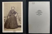 Angerer, Wien, Famille Reinlein, à identifier Vintage albumen print. CDV.  T