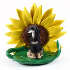 Saluki Sunflower Figurine