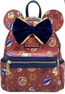 Loungefly: Disney Cruiseline - Wish Cruise Ship Mini Backpack, AMZ EXCLUSIVE