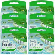 18 Wilkinson Intuition Sensitive Care Naturals Rasierklingen Klingen Aloe Vera
