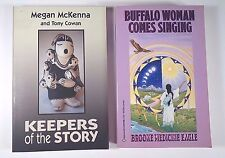 Lot (2) Buffalo Woman Comes Singing & Keepers of the Story