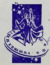 1953 Ciro's Nightclub Menu Danny Thomas Jimmy Durante Frank Sinatra
