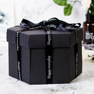 Kreative DIY Geburtstagsgeschenk Überraschung Explosion Box Fotoalbum Scrapbook