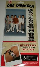 ONE DIRECTION TEMPORARY JEWELRY TATTOOS ID ZAYN NIALL LIAM LOUIS HARRY 2045 NEW