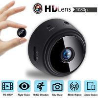 Mini Spy IP Camera Wireless WiFi HD 1080P Hidden Home Security Night Vision DVR