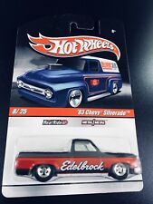 HOT WHEELS '83 CHEVY SILVERADO EDELBROCK 1/64 DIECAST NEW IN GREAT BLISTER PACK