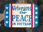 1960s protest ' Veterans For Peace in Vietnam ' Pinback Button
