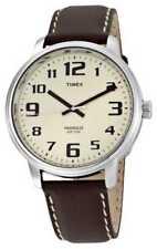Relojes de pulsera Timex de acero inoxidable de cuero